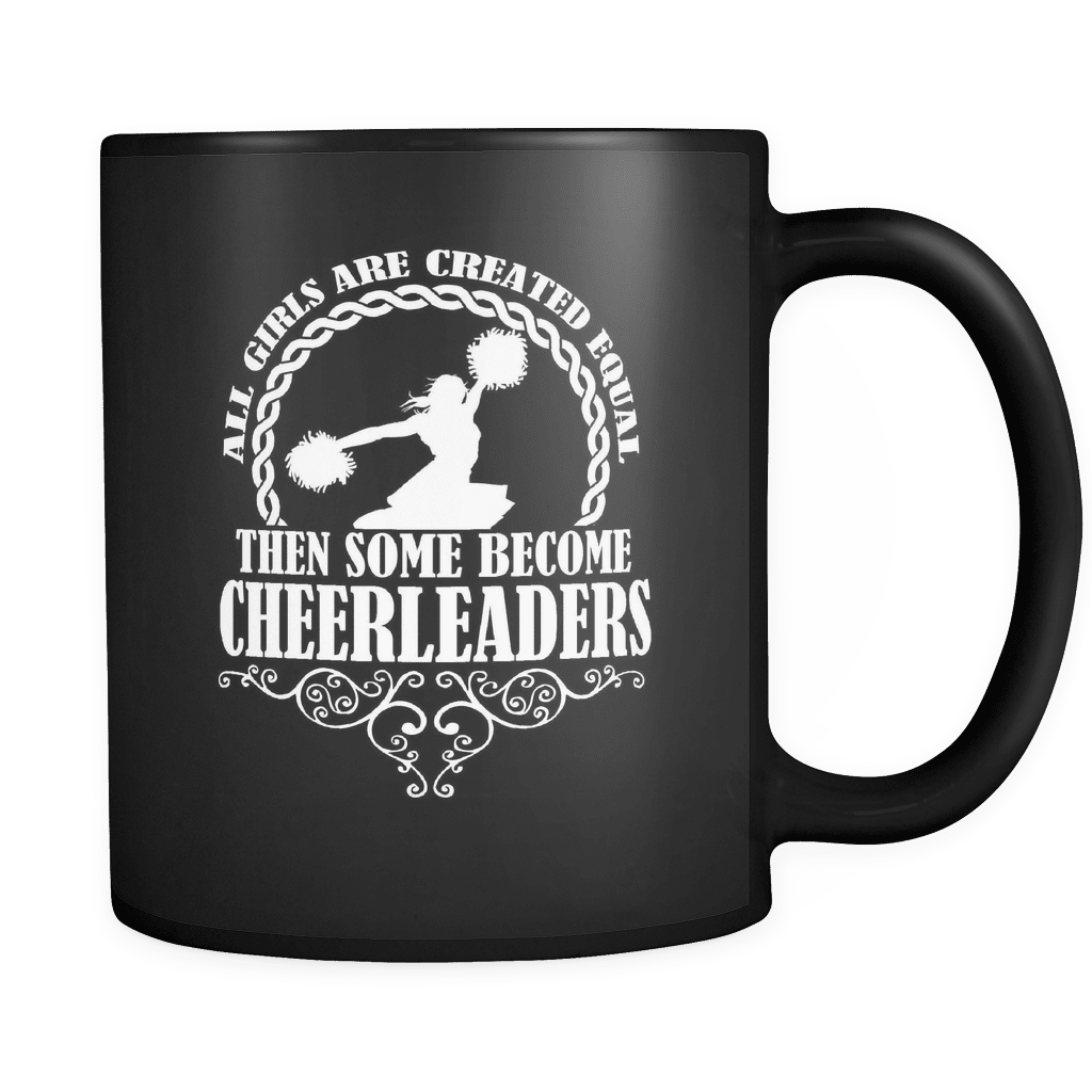 Some Become Cheerleaders - Luxury Mug