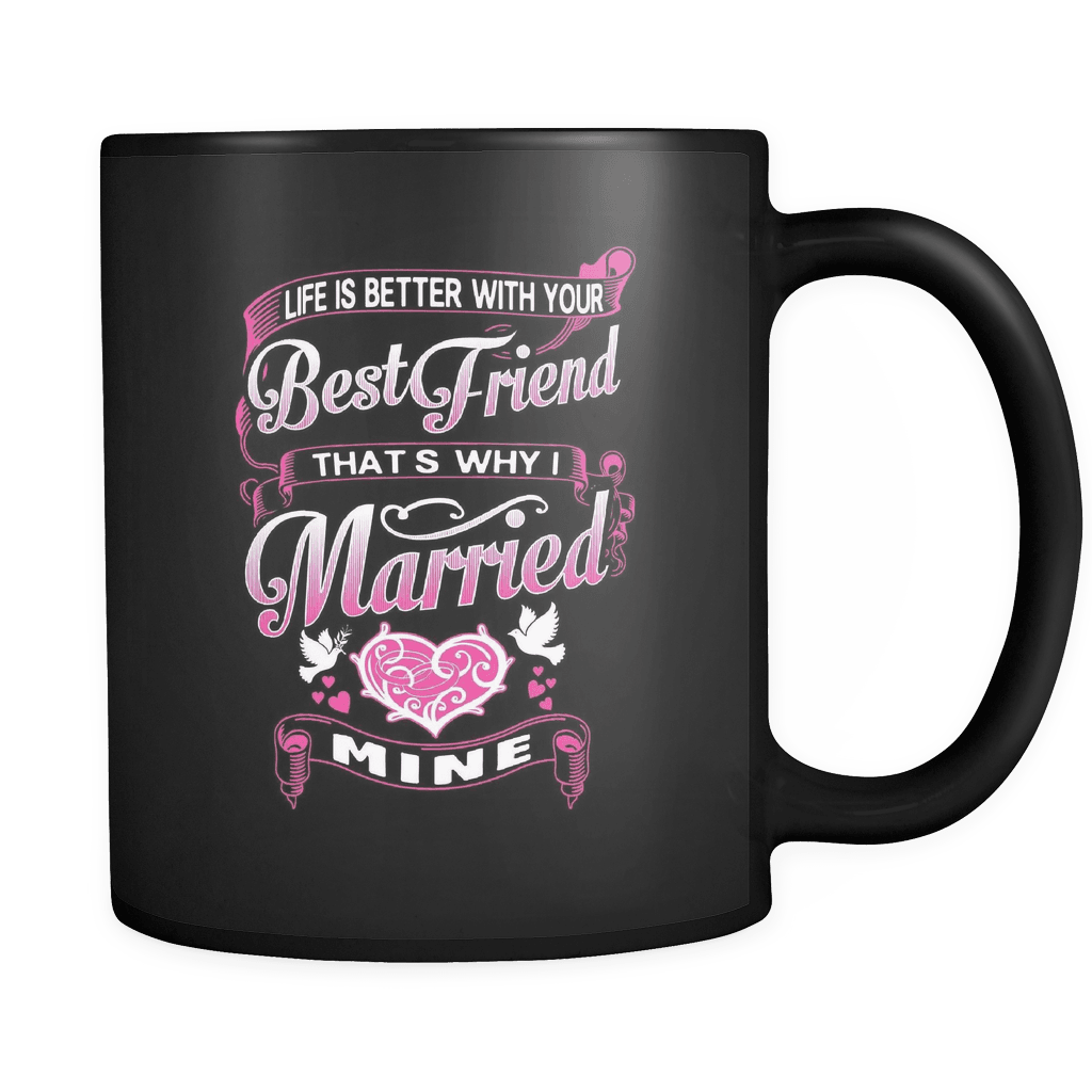 My Best Friend - Luxury Lovers Mug