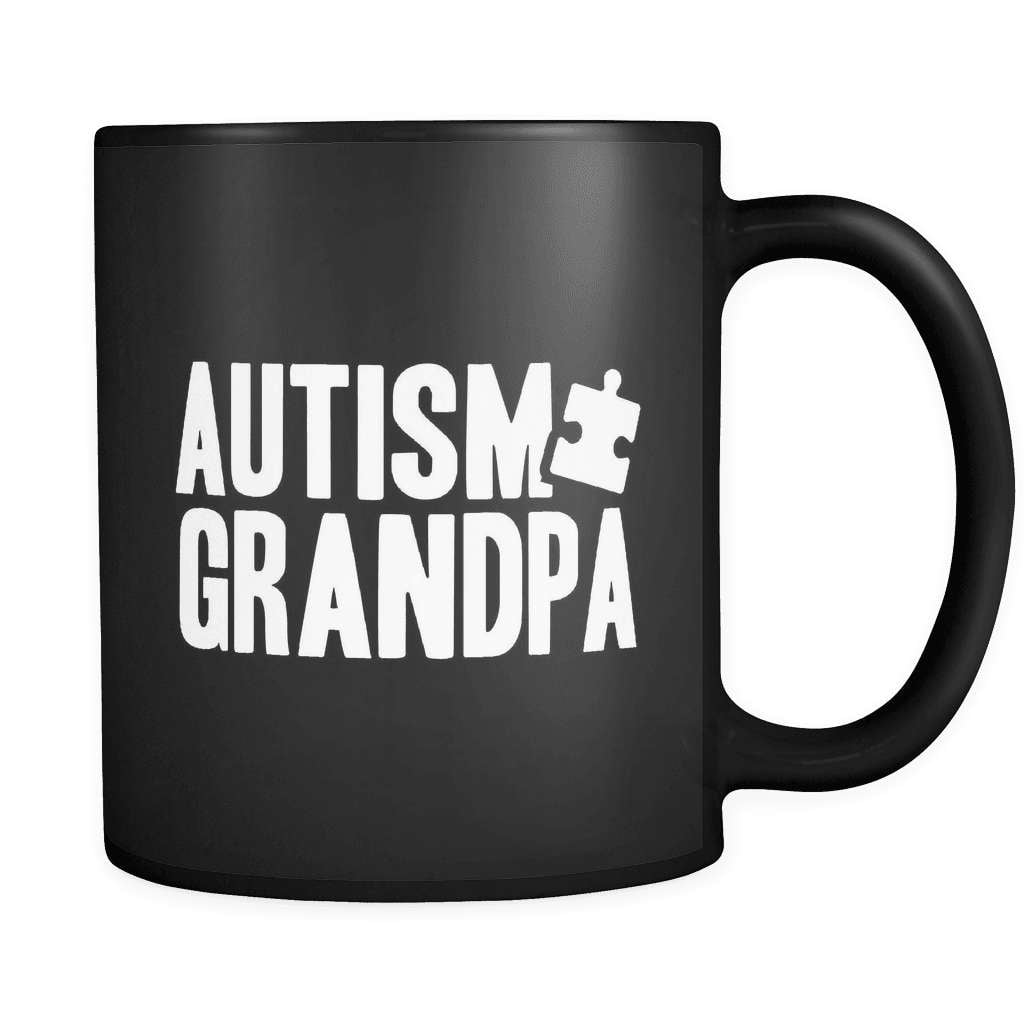 Grandpa - Luxury Autism Mug