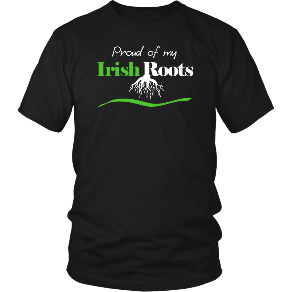 Irish T-Shirt Design - I'm Proud Of Being Irish