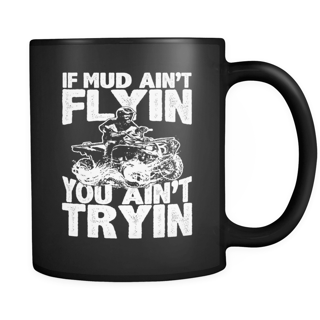 Mud Flyin - Luxury Dirt Bike Mug