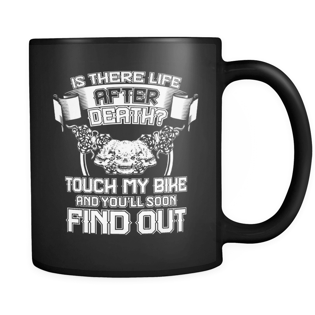 Is There Life After Death? - Luxury Biker Mug