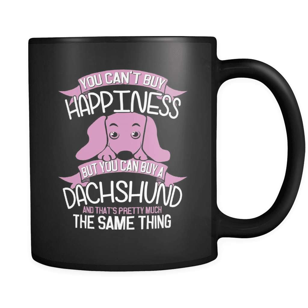 Happiness - Luxury Dachshund Mug