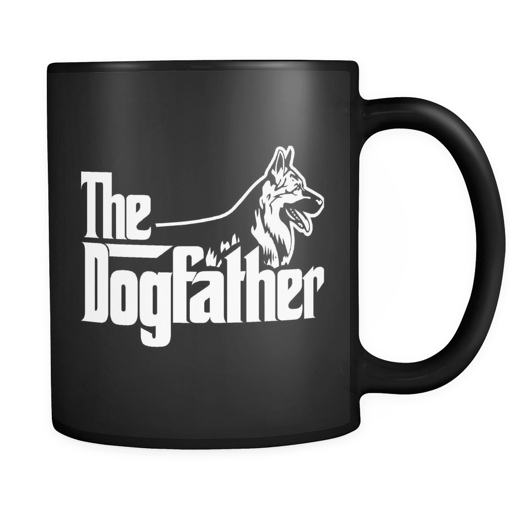 The Dogfather - Luxury German Shepherd Mug