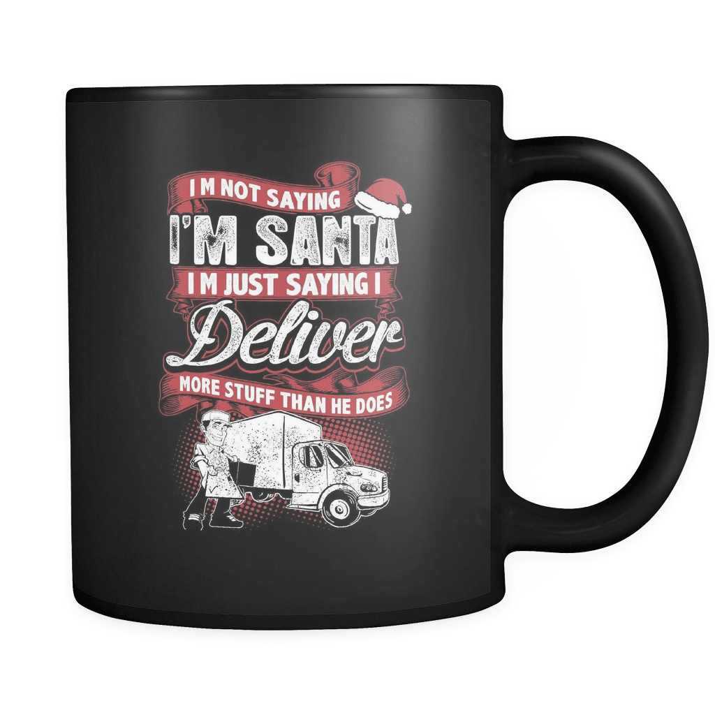 Trucker Santa - Luxury Mug
