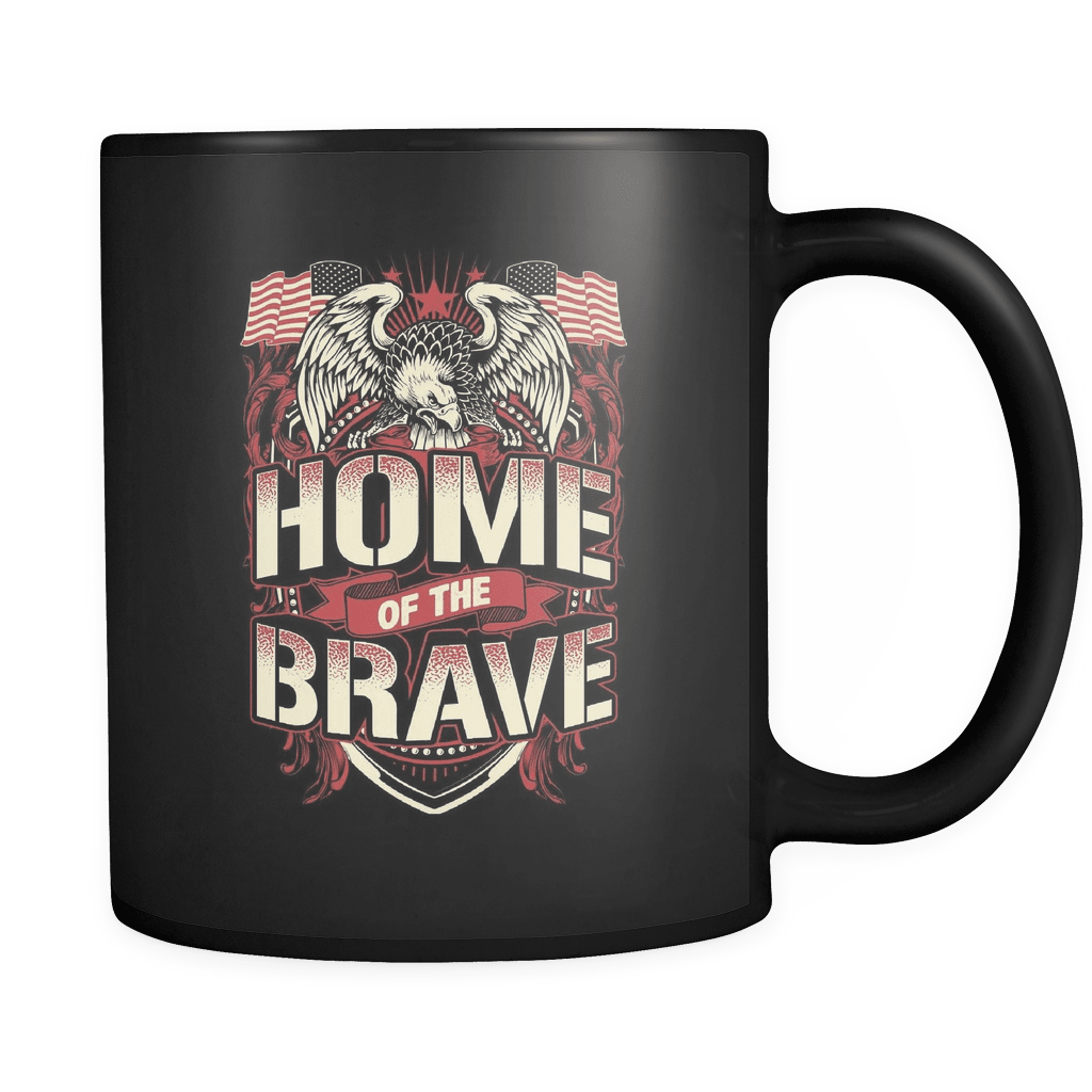 Home Of The Brave - Luxury Veteran Mug
