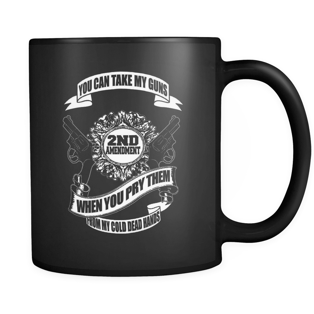 From My Dead Cold Hands - Luxury Gun Mug