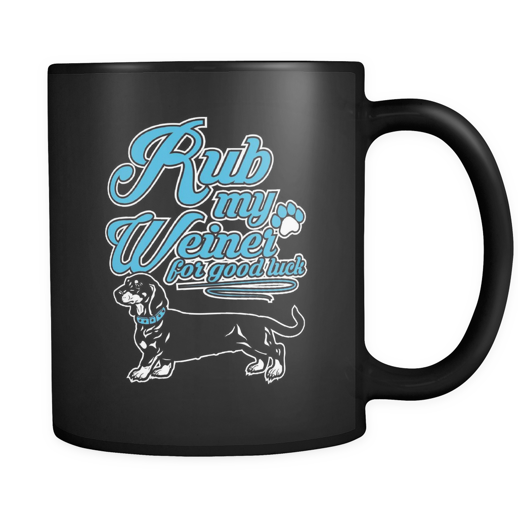 Rub My Weiner - Luxury Dachshund Mug