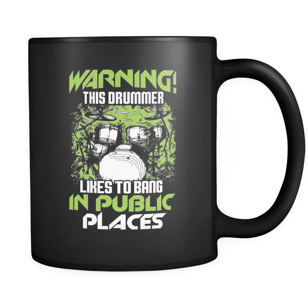 Bang In Public Places - Luxury Drummer Mug