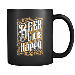 God Loves Me - Luxury Beer Mug