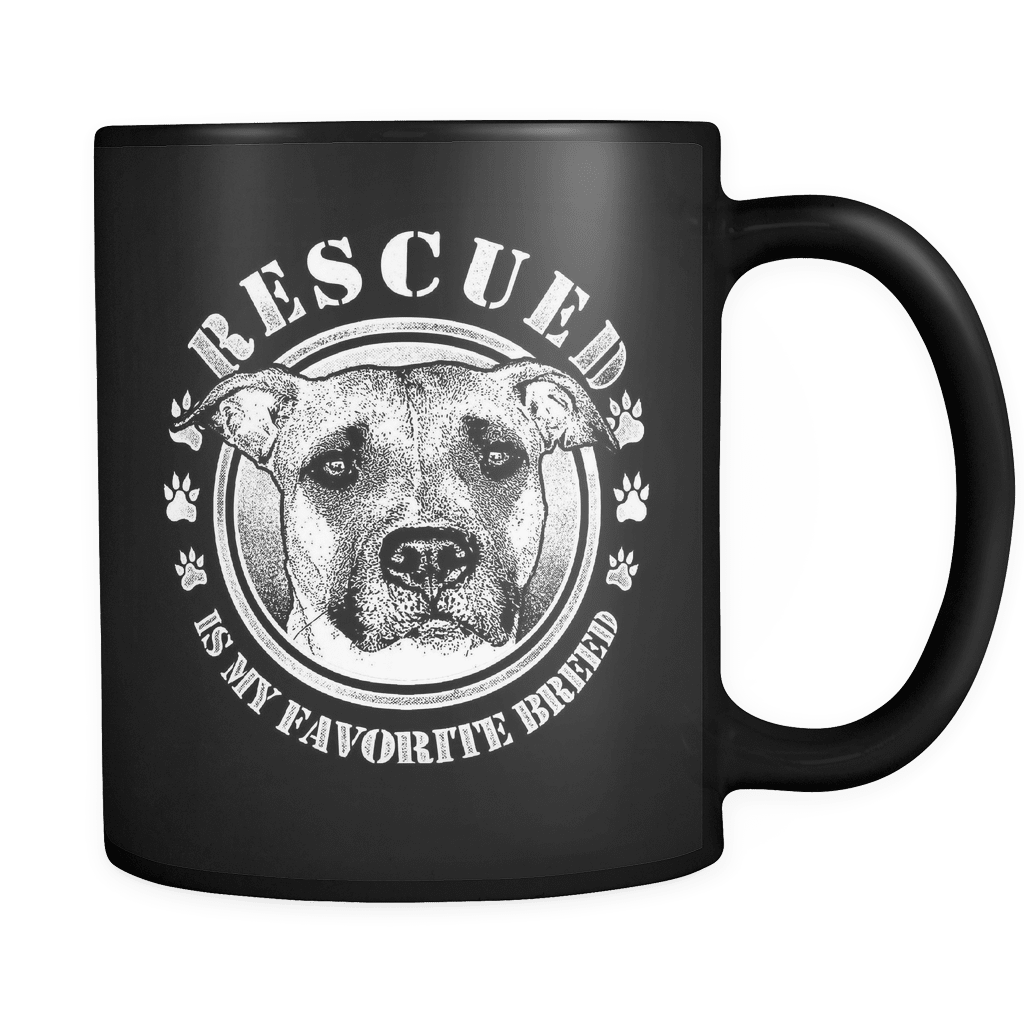 Rescued - Luxury Pit Bull Mug
