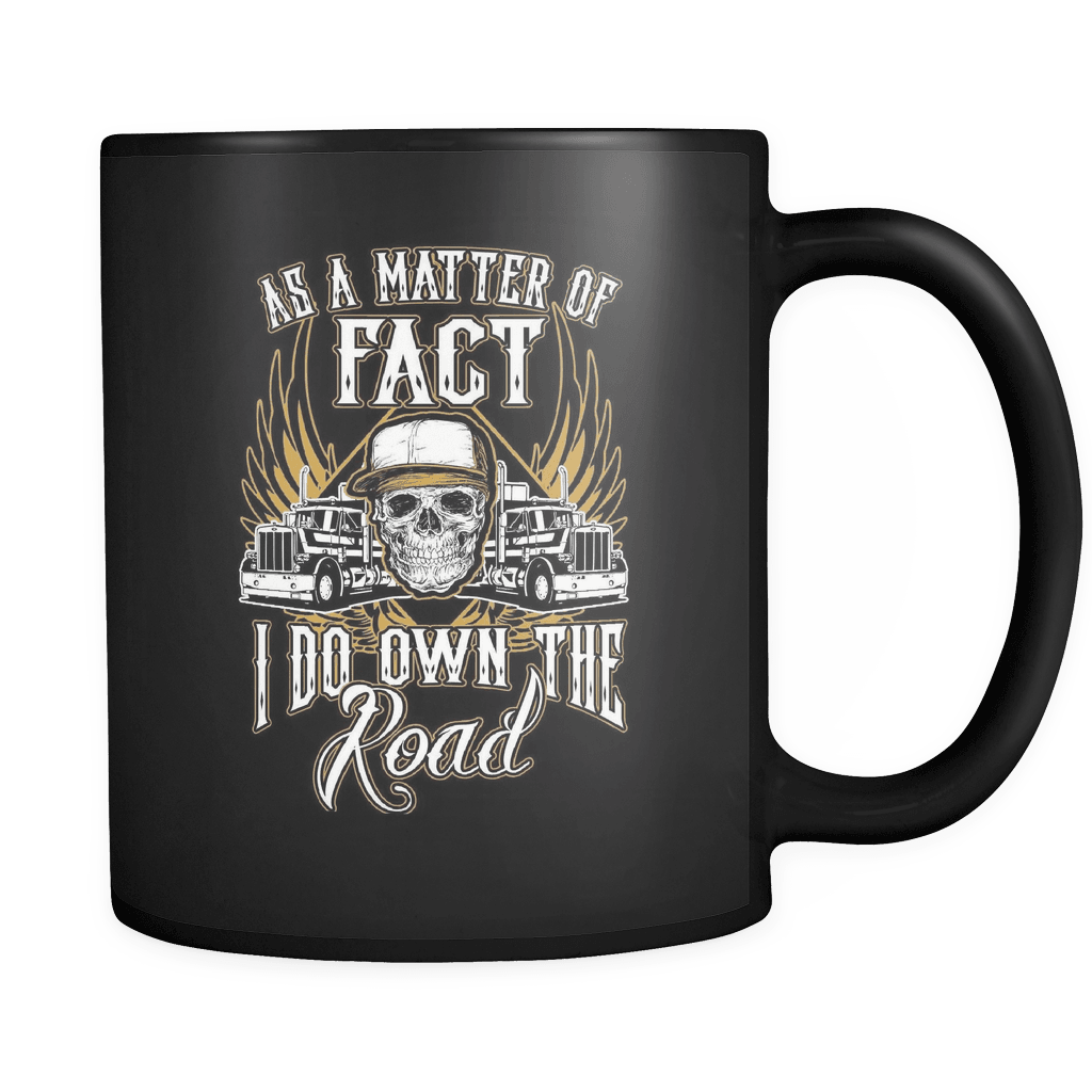 Own The Road - Luxury Trucker Mug