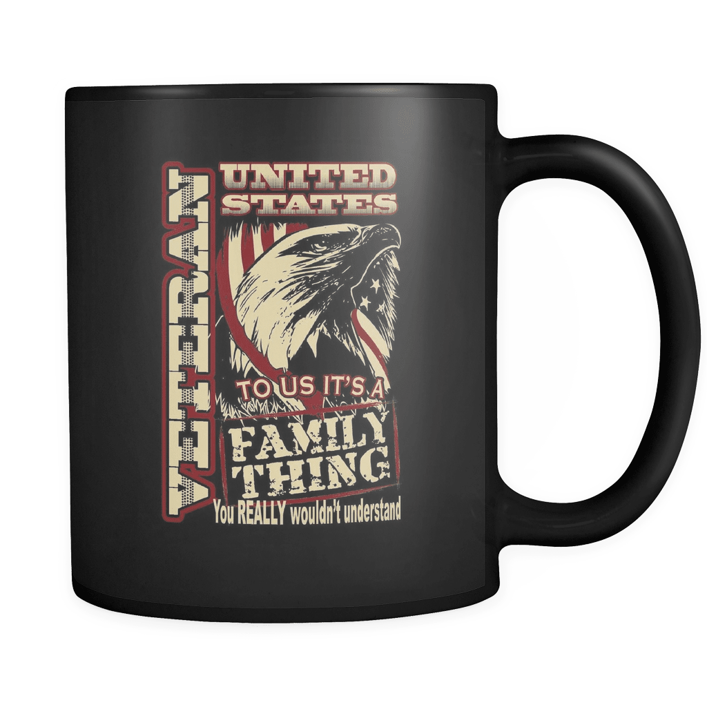 Family Thing - Luxury Veteran Mug