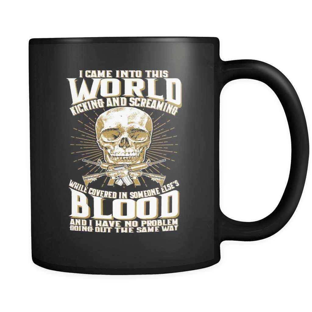 Covered In Someone Else's Blood - Luxury Gun Mug
