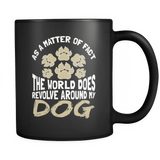 As A Matter Of Fact - Luxury Dog Mug