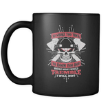 I Won't Tremble - Luxury Firefighter Mug