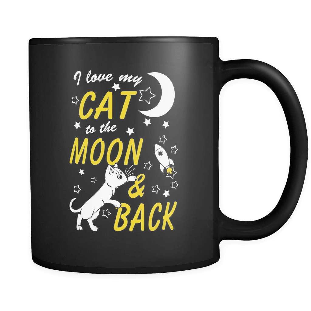 I Love My Cat This Much! - Luxury Mug