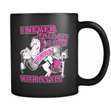 I Never Fall Off! - Luxury Horse Mug