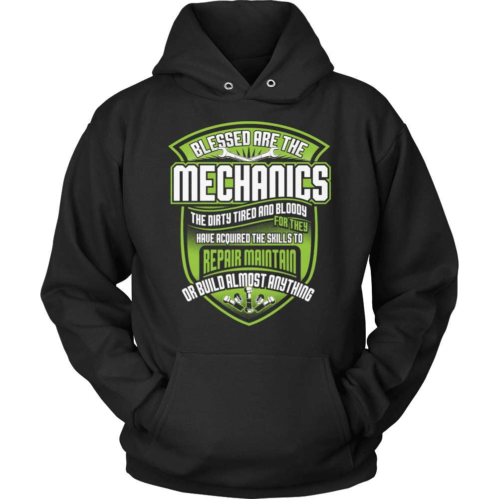 Mechanic T-Shirt Design - Blessed Mechanics - snazzyshirtz.com