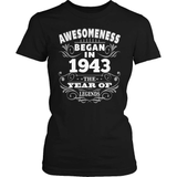 Birthday T-Shirt Design - Awesomeness - 1943