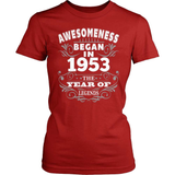 Birthday T-Shirt Design - Awesomeness - 1953