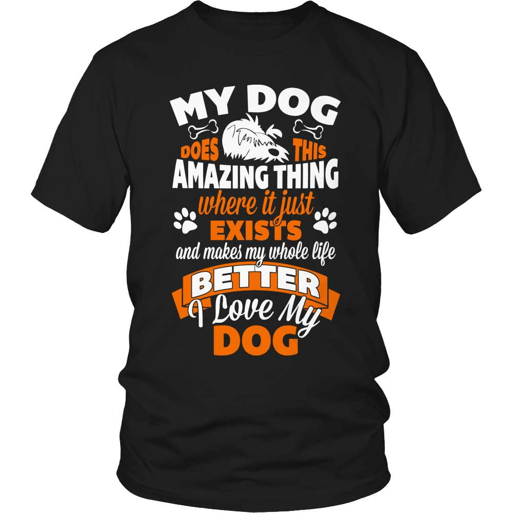 Dog T-Shirt Design - Amazing Dog - snazzyshirtz.com