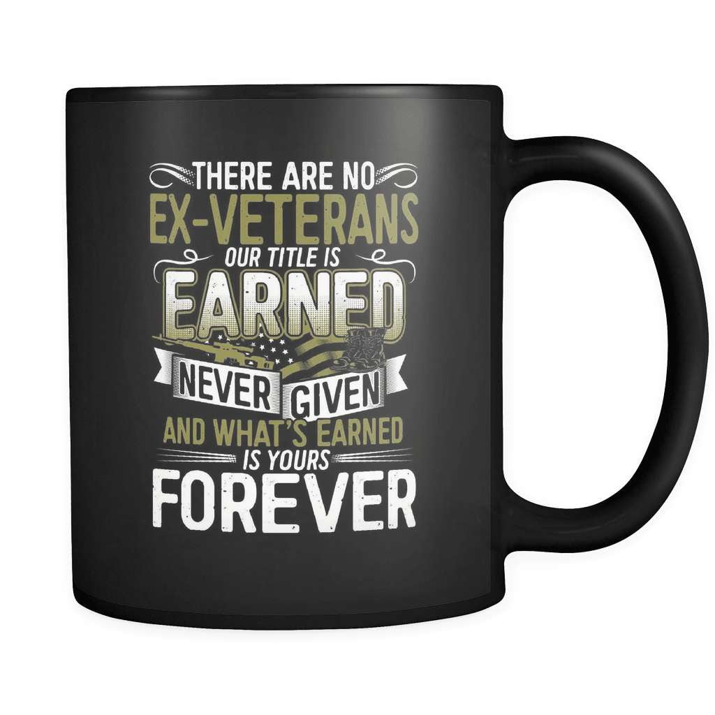 There Are No Ex Veterans - Luxury Mug