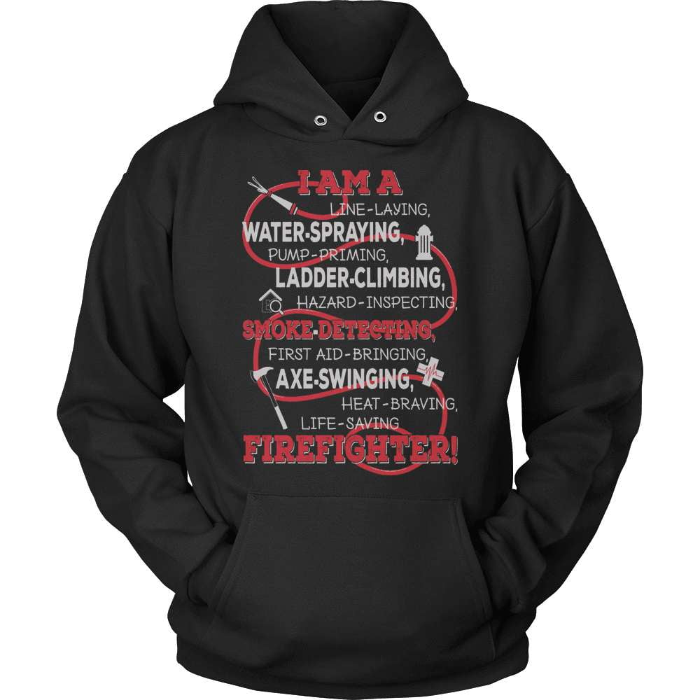 Firefighter T-Shirt Design - I Am A Firefighter