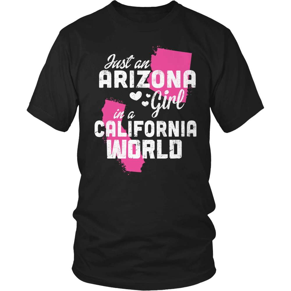 Arizona T-Shirt Design - Arizona Girl California World