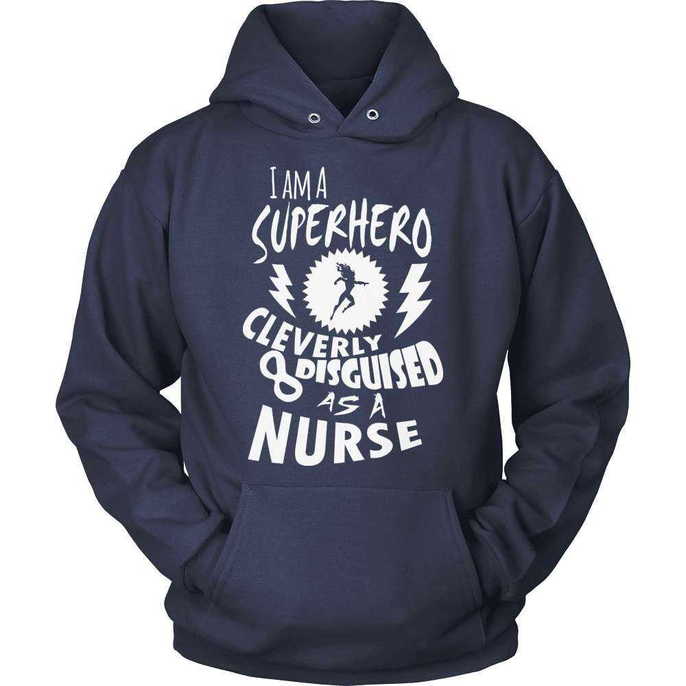 Nurse T-Shirt Design - Superhero