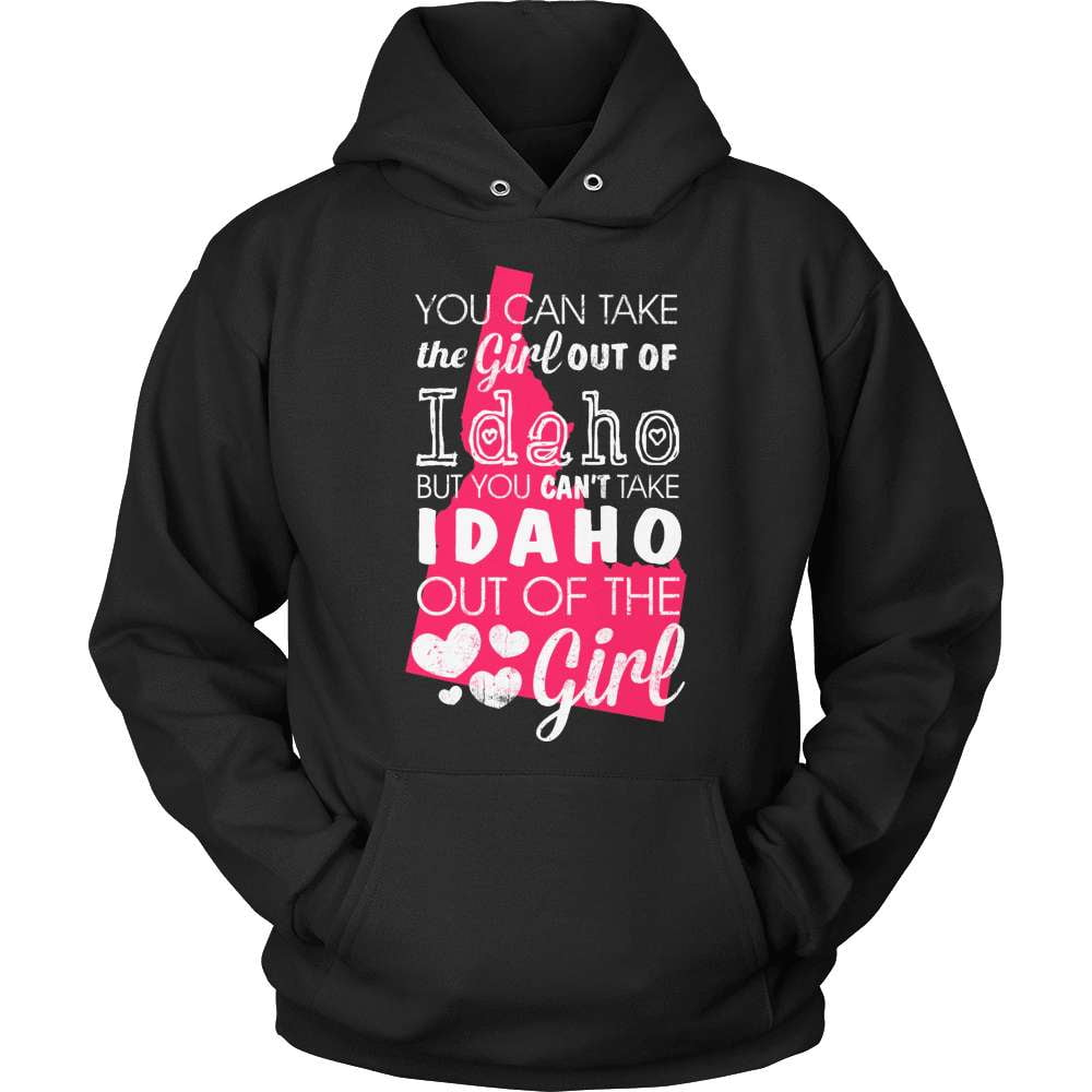 Idaho T-Shirt Design - Girl Out Of Idaho - snazzyshirtz.com