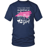 North Carolina T-Shirt Design - Girl Out Of North Carolina
