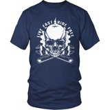 Biker T-Shirt Design - Live Fast Ride Free