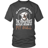 Pit Bull T-Shirt Design - World Revolves