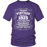 Birthday T-Shirt - Premium - 1925