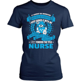 Nurse T-Shirt Design - Forever The Title!