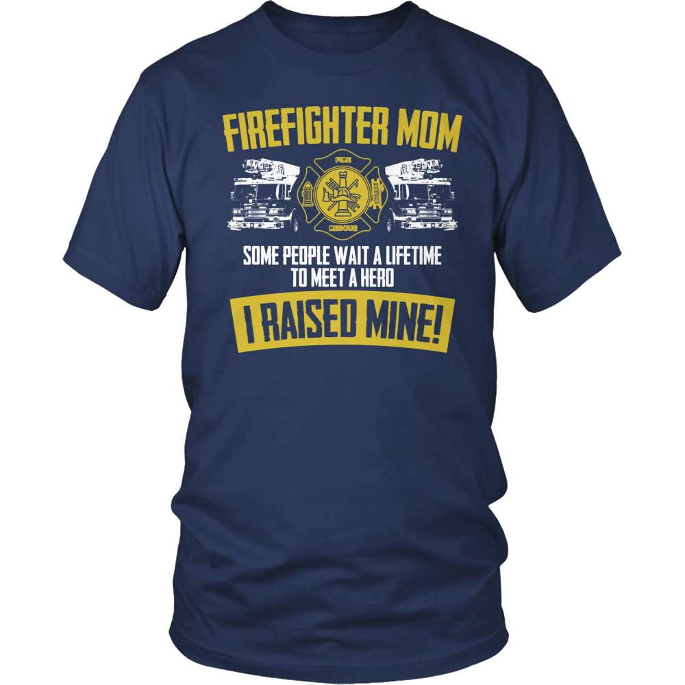 Firefighter T-Shirt Design - Firefighter Mom