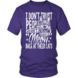 Cat T-Shirt Design - Meow At Your Cat!