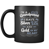 Silver In My Hair - Luxury Grandparent Mug