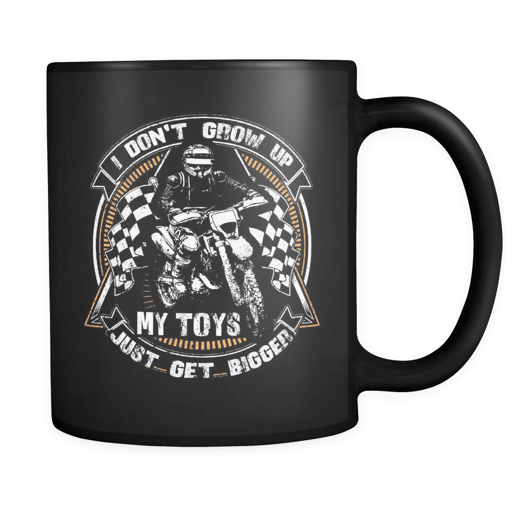 My Toys Get Bigger - Luxury Dirt Bike Mug