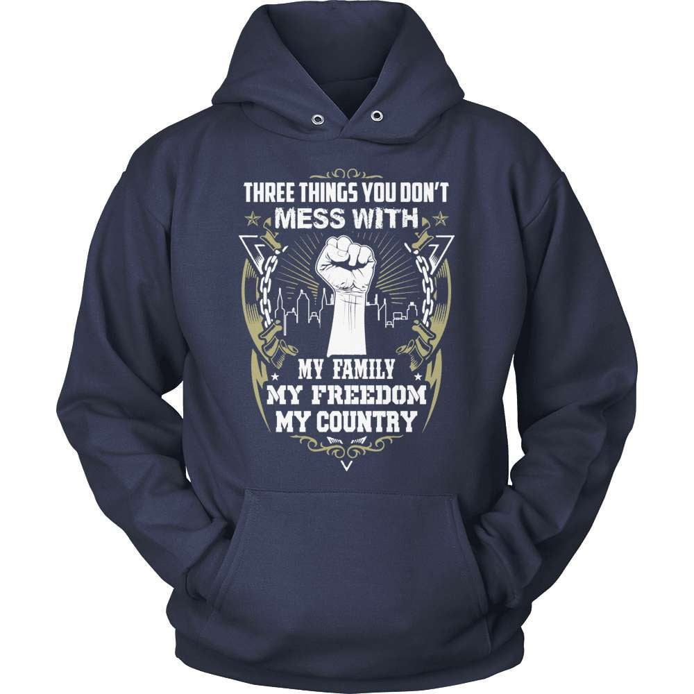 Veteran T-Shirt Design - Don't Mess With My Country