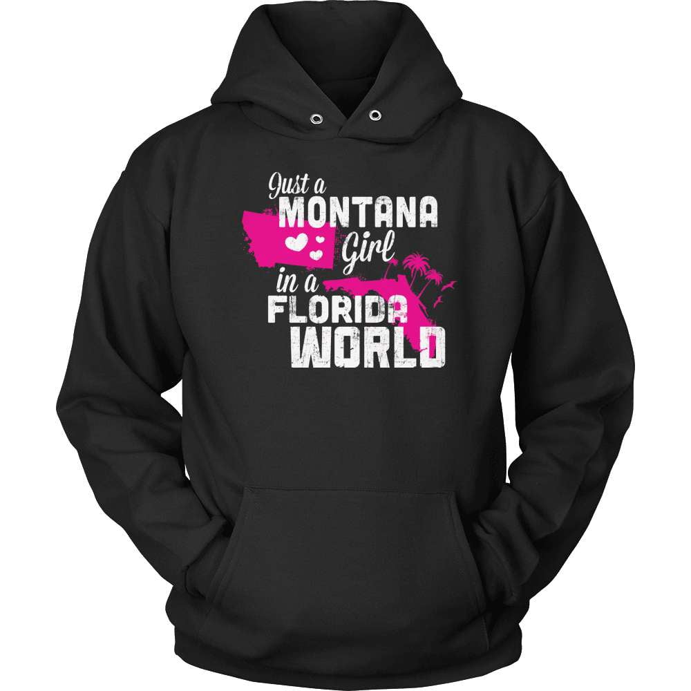 Montana T-Shirt Design - Montana Girl Florida World