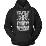 Veteran T-Shirt Design - My Country