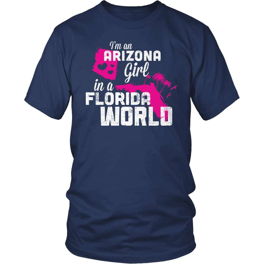Arizona Shirt - Arizona Girl Florida World - snazzyshirtz.com