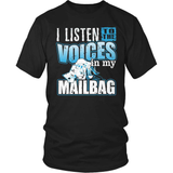 Mail Carrier T-Shirt Design - Voices In My Mailbag!