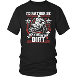 Dirt Bike T-Shirt Design - Playing In The Dirt