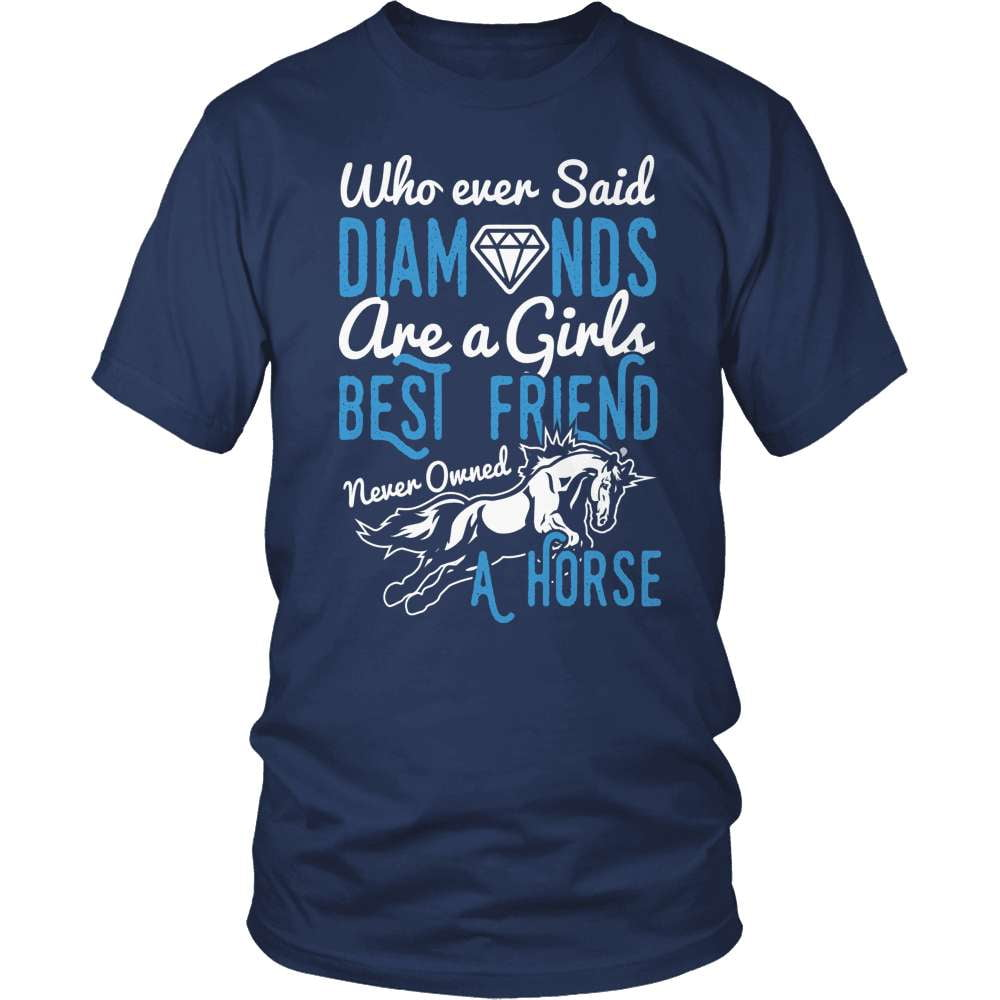 Horse T-Shirt Design - Girls Best Friend | snazzyshirtz.com
