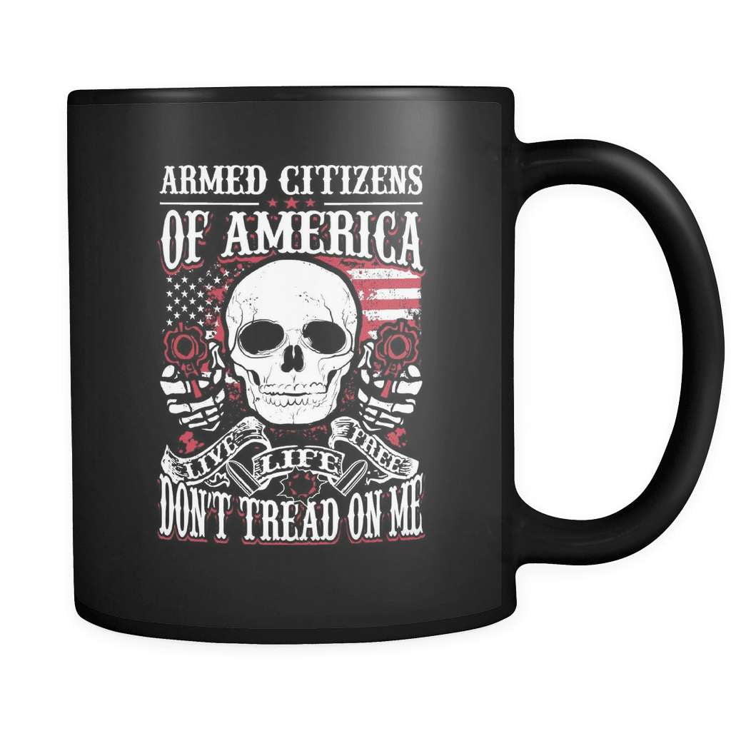 Armed Citizens Of America! - Luxury Gun Mug - snazzyshirtz.com