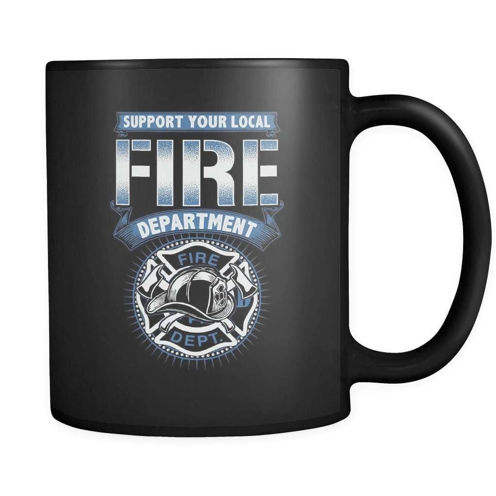 Support The Fire Department - Luxury Firefighter Mug