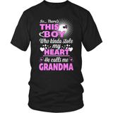 Grandparent T-Shirt Design - This Boy Stole My Heart